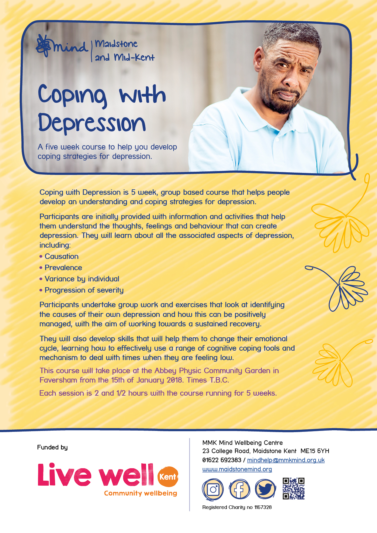 coping with depression - faversham january 2018