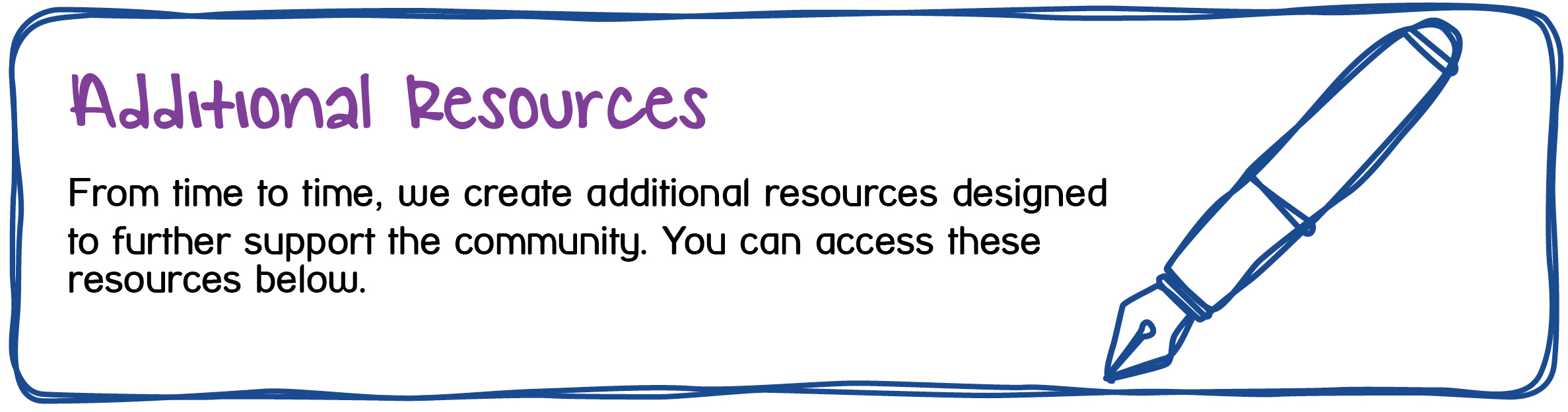 Maidstone and Mid-Kent Mind - Additional Resources - designed to support the community.