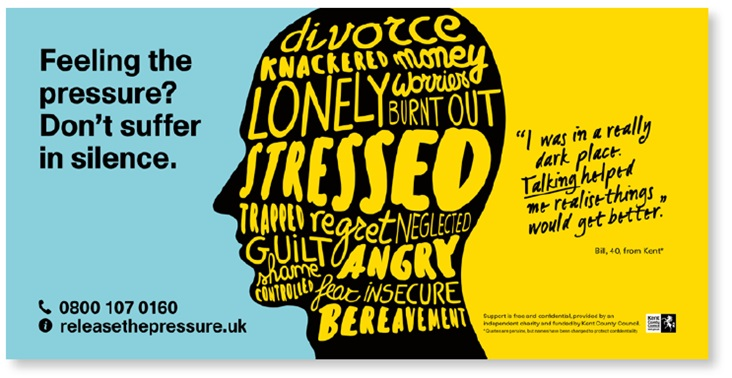 Feeling the pressure? Don't suffer in silence. Call Release The Pressure on 0800 107 0160.
