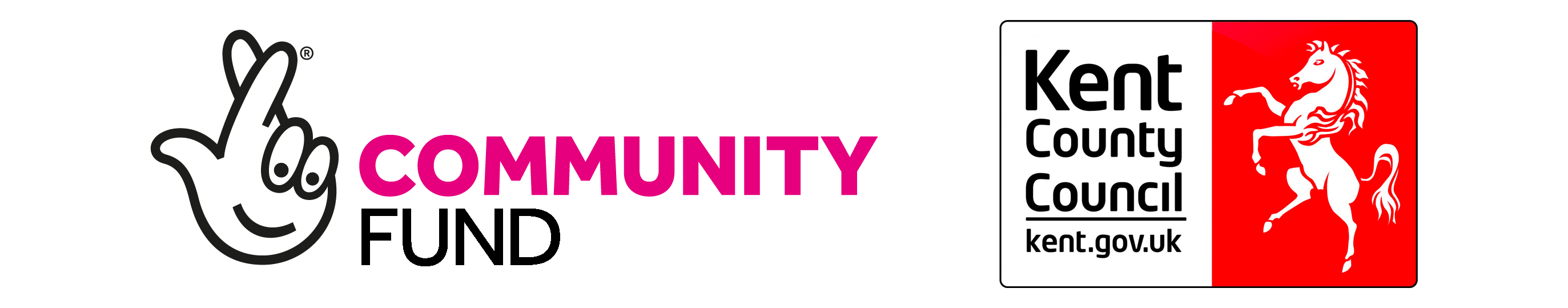 Bounce Back - National Lottery Community Fund and KCC Logo