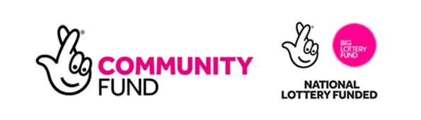 Mental Health Awareness - Community Fund Logo and Awards For All Logo