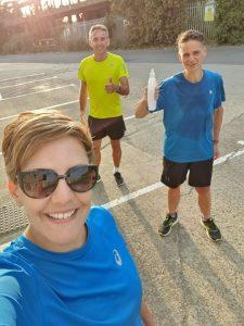 Barry, Justin and Vanessa - Brighton Marathon - September Update
