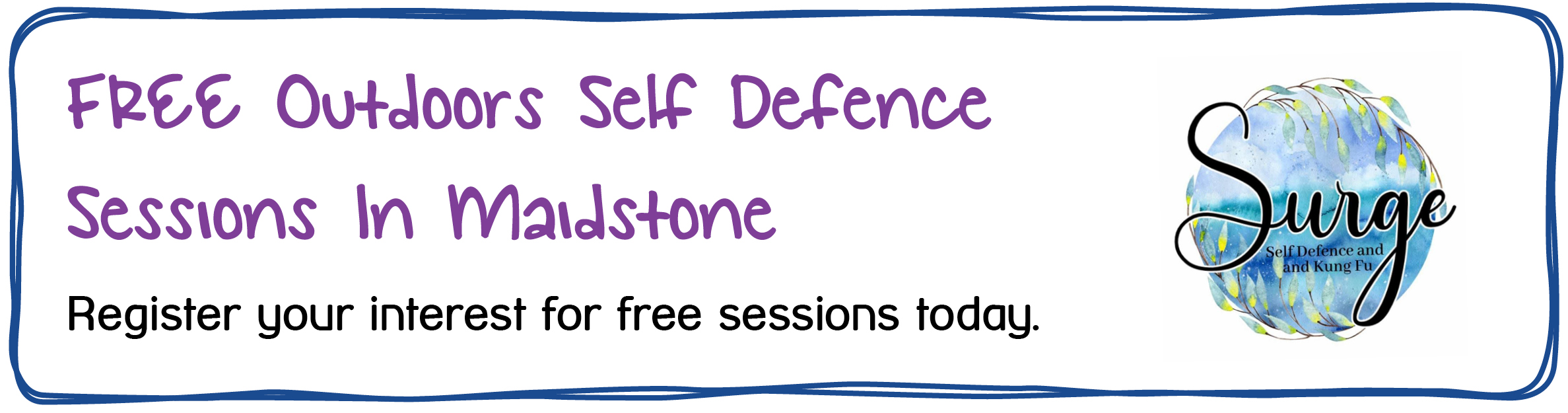 Self Defence Maidstone - FREE Outdoors Self Defense Sessions in Maidstone. Register your interest for free sessions today.