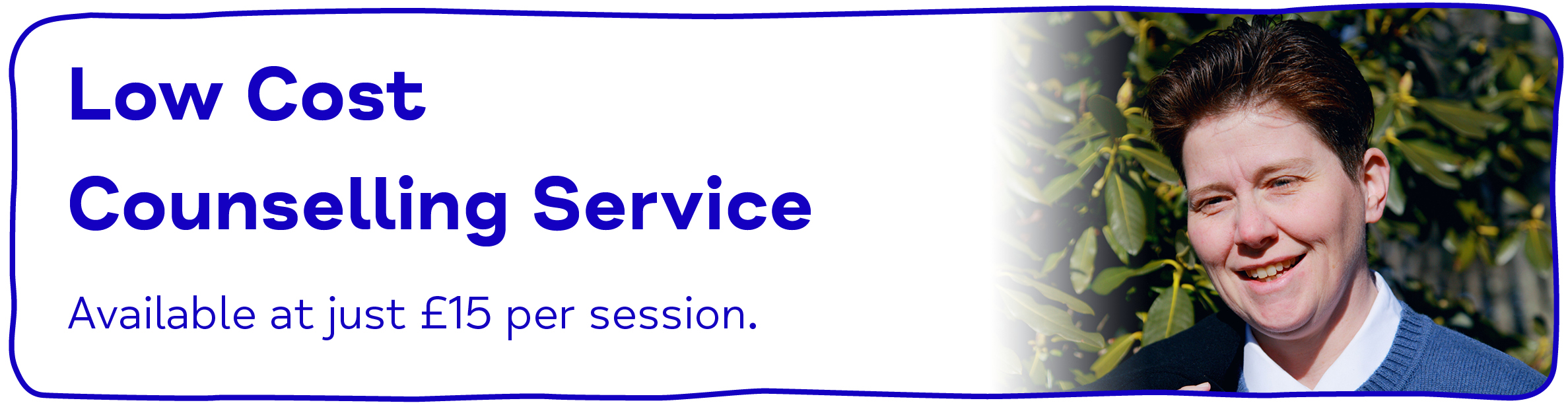 Low Cost Counselling Service from Mid Kent Mind. Available at just £15 per session.